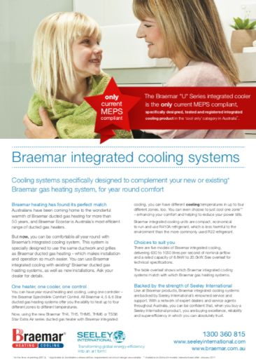 braemar add on cooling